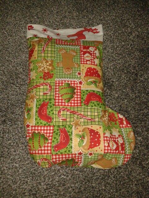 Weihnachtsstrumpf | Selbstgenähtes, Nähen, Nähstücke, DIY, Sewing ...