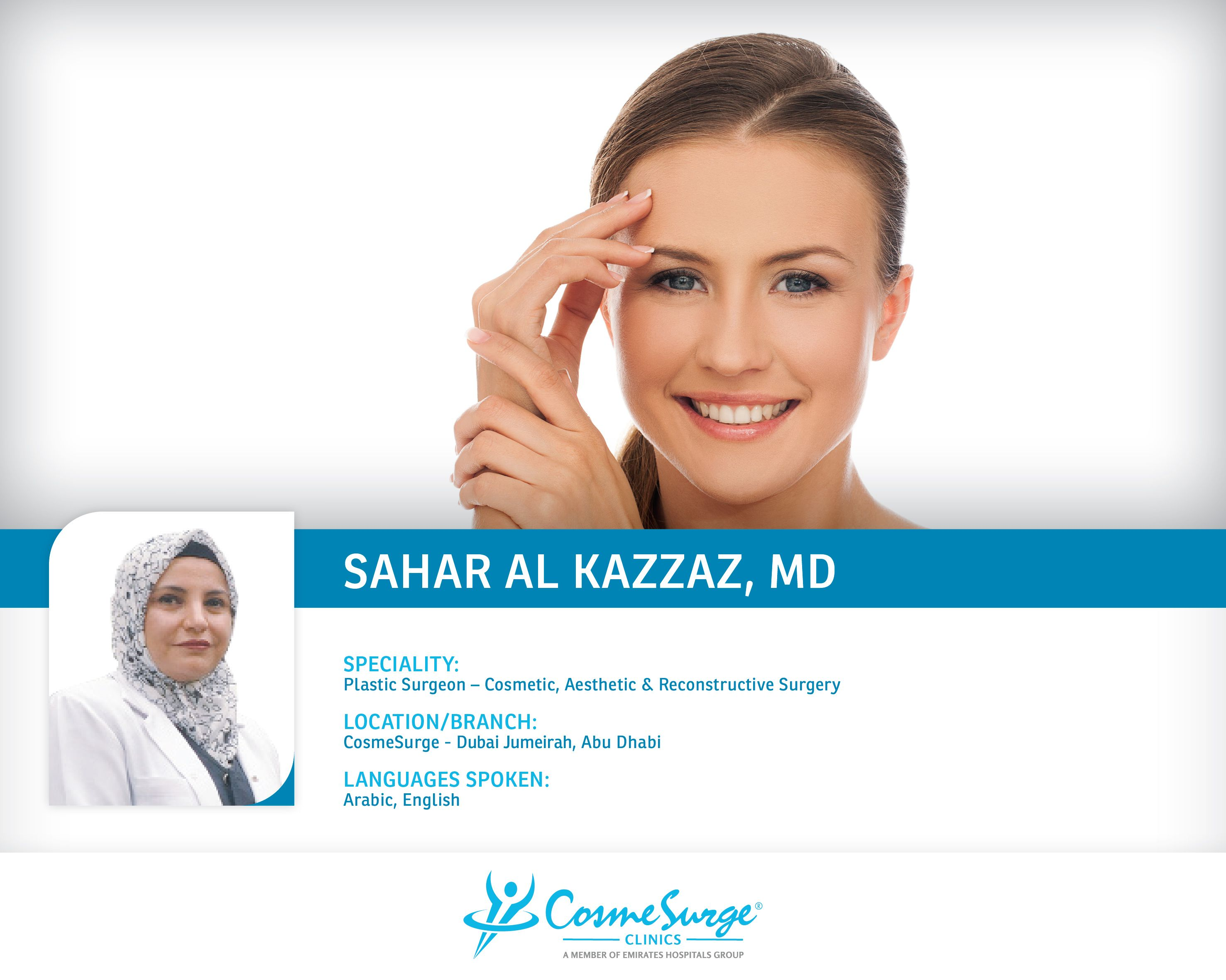 Dr Sahar Al Kazzaz Dubai Jumeirah Abu Dhabi Board Certified In Plastic Reconstruction And Aesthetic S Cosmetic Surgery Plastic Surgery Diy Anti Aging