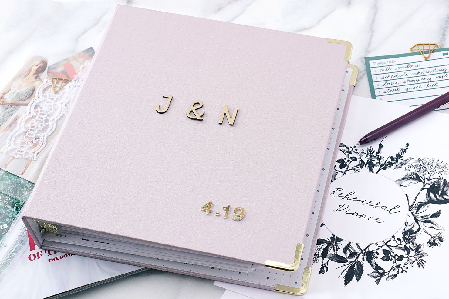 DIY Wedding Binder Printables Diy wedding binder, Diy