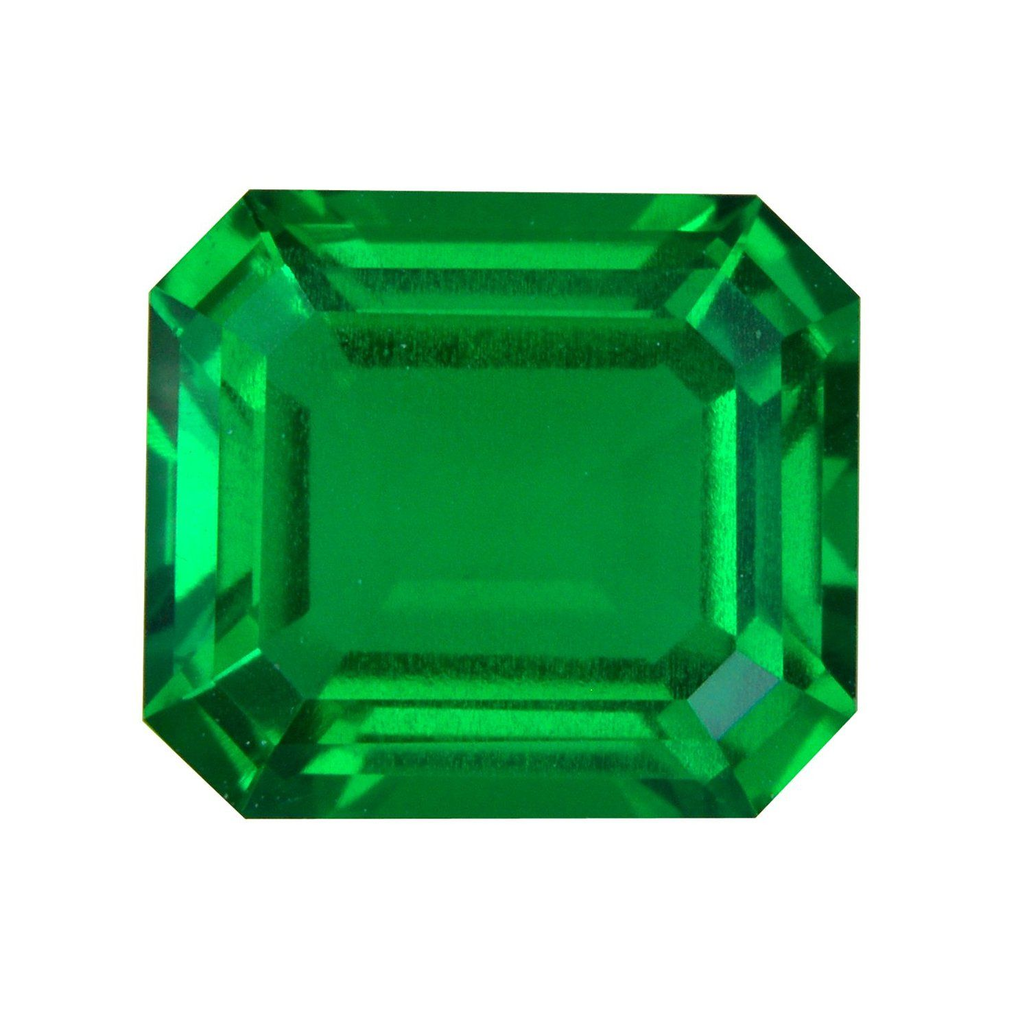 gemstone nano pin green emerald princess wuzhou grade cut quality synthetic aaa