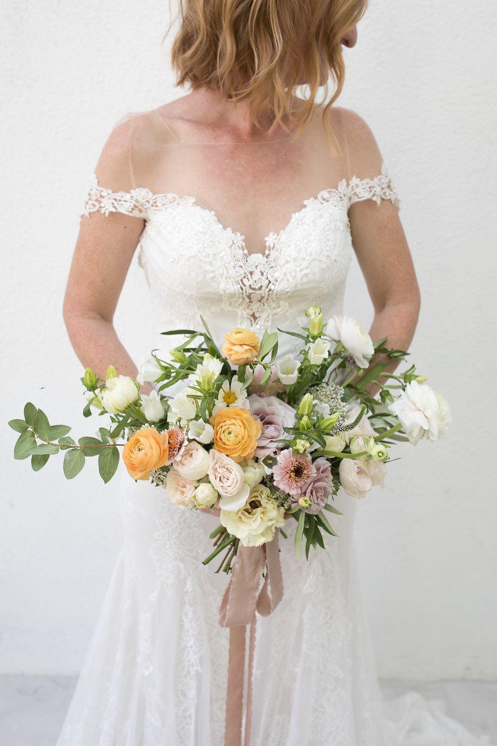 Wedding Bouquet Wedding Flowers Blush Wedding Flowers Silk