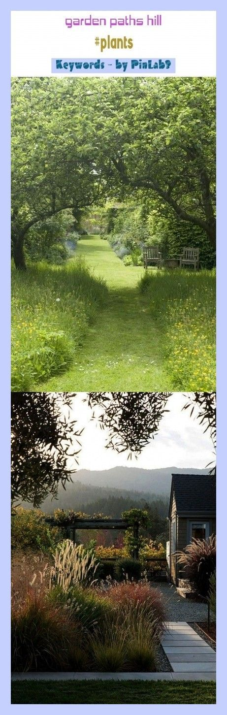 Photo of Garden paths hill #plants #blog #seo #trending. garden paths and walkways, garde…