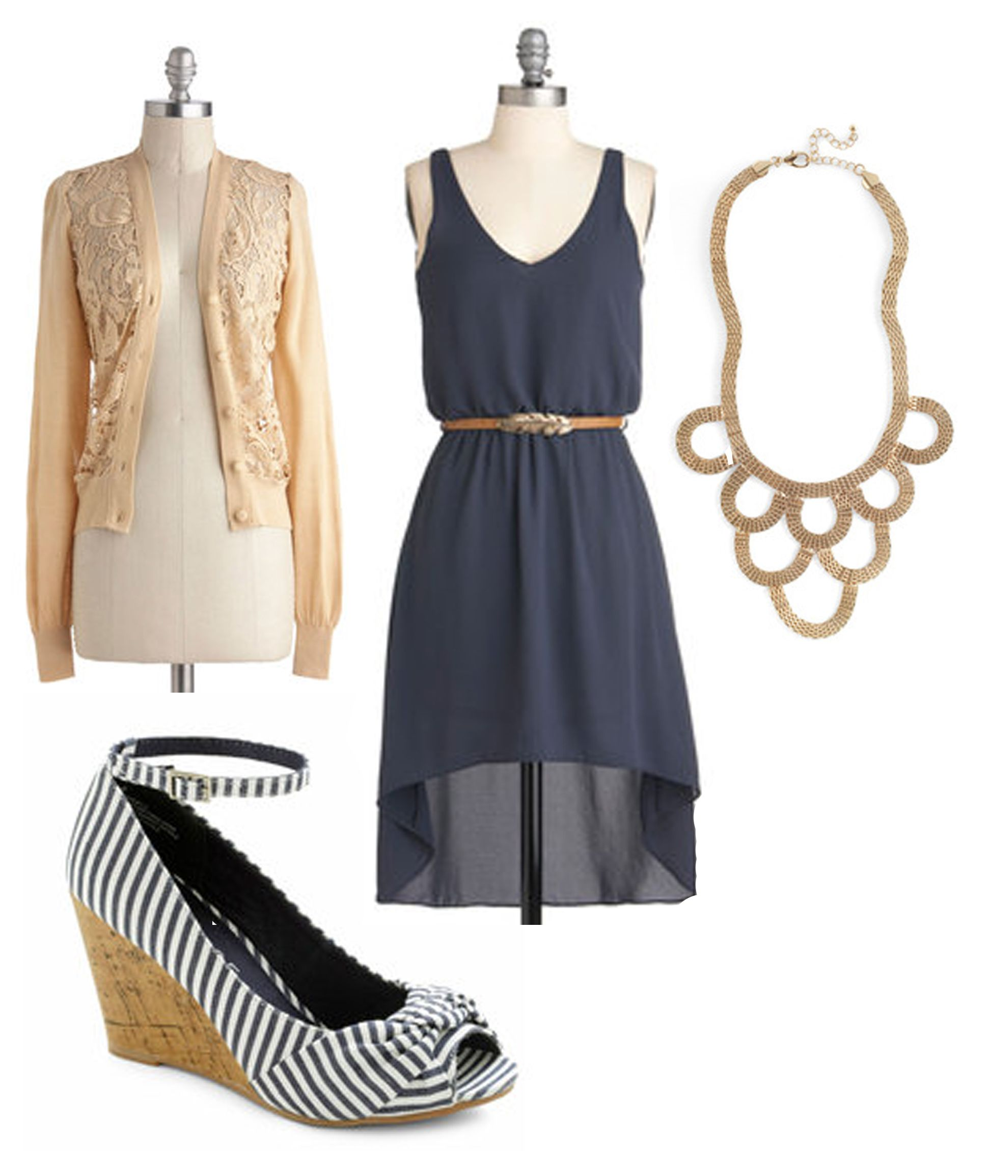 Outdoor Wedding Outfit Ideas: Wedding Outfit-minus The Shoes