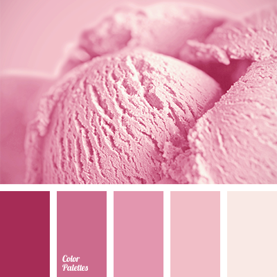 Delicate shades of pink are perfect for decoration of ...