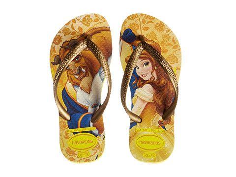 e6454970b584 Havaianas Kids Slim Princess Disney Flip Flops (Toddler Little Kid Big Kid)
