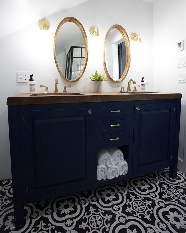 Modern Master Bathroom Reveal