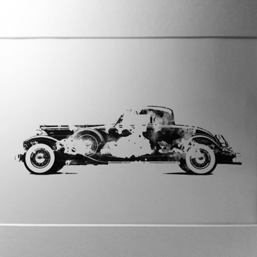Digital/ink based rendering of Packard twelve custom coupe 1933. Please like my Facebook for updates, new work and available prints and also please like and share thanks #blackink #blackandwhite #ink #digital #photoshop #illustration #artistoftheweek #art #drawing #cars #classiccars #packard #packardcoupe #1933 @i_am_other