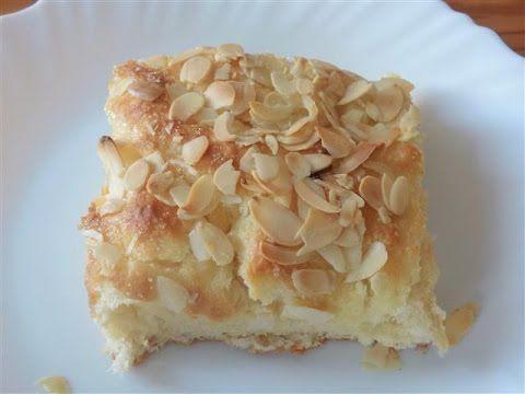Süßer Blechkuchen: Butterkuchen mit Mandeln und Zucker #chefkoch - YouTube