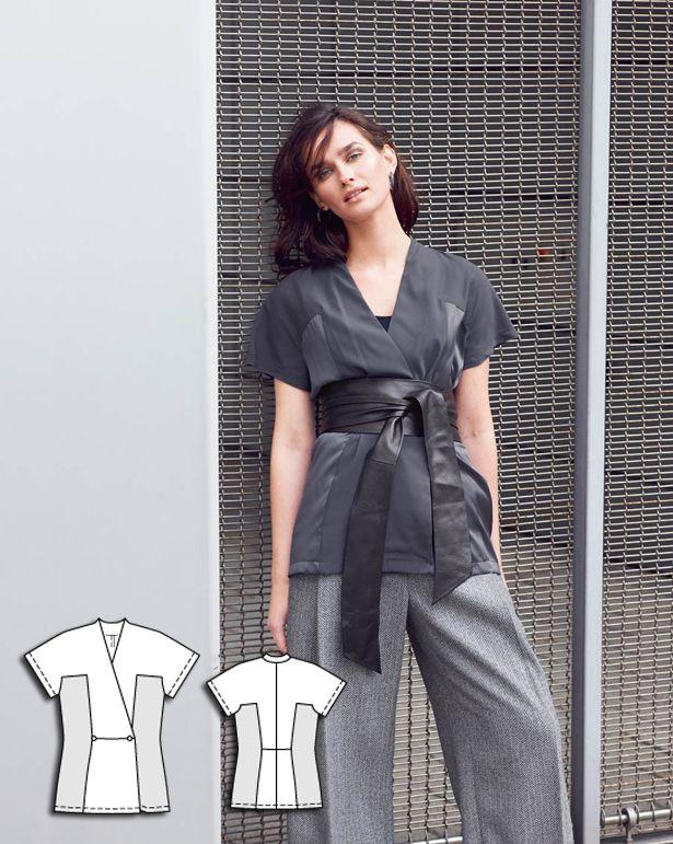 Kimono Blouse 10/2015 #117ABC http://www.burdastyle.com/pattern_store/patterns/kimono-blouse-102015?utm_source=burdastyle.com&utm_medium=referral&utm_campaign=bs-meh-bl-150921-SaltAndPepperCollection117
