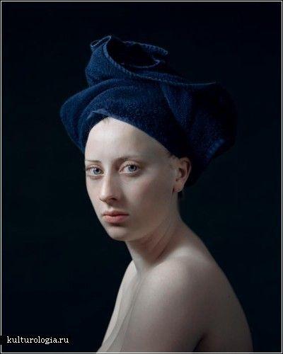 Фотографии Хендрика Керстенса (Hendrik Kerstens)  в стиле голландской портретной живописи 17 века