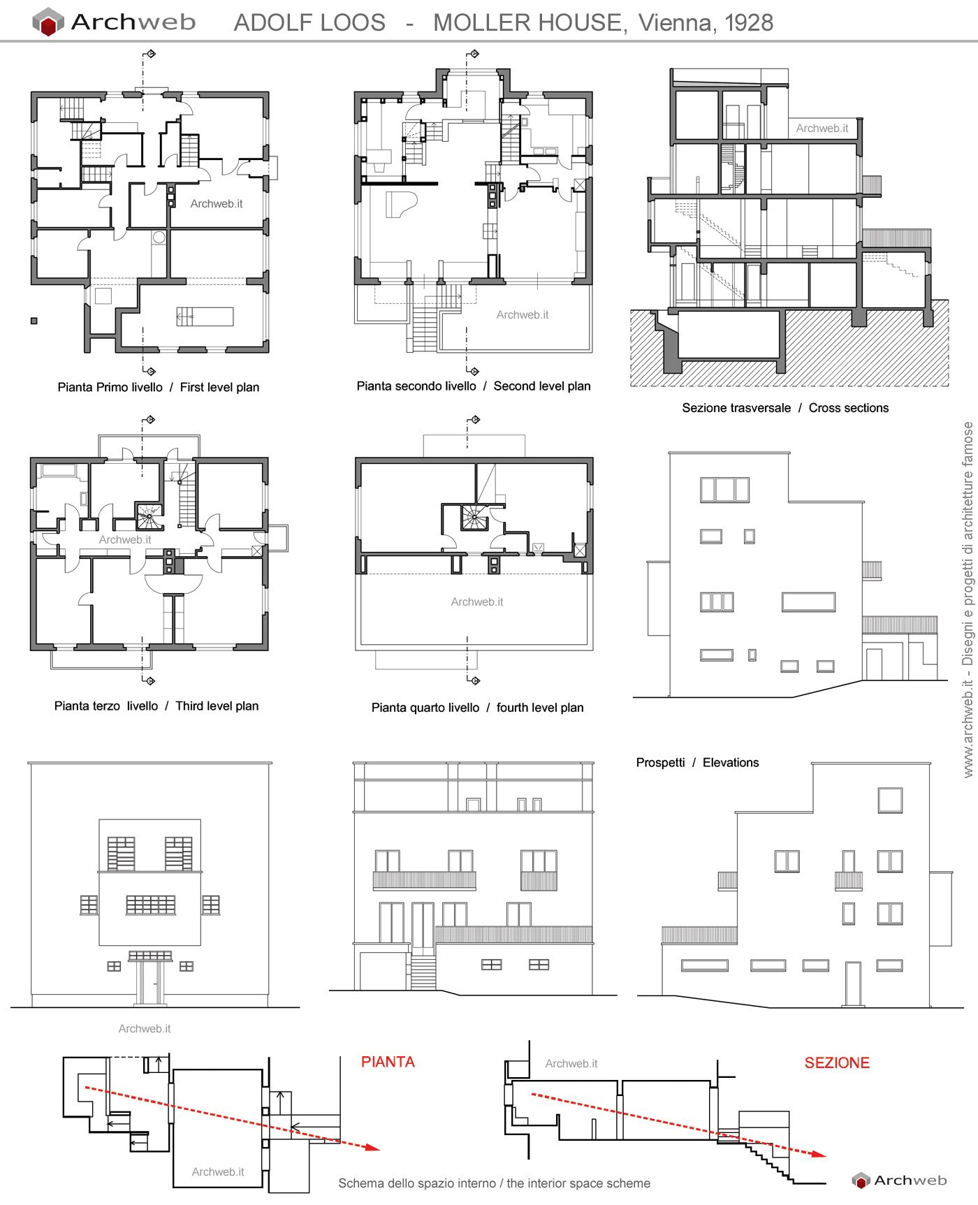 70 Disegni Dwg Case Casa Design