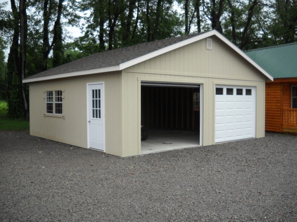24'X24' Two Car Garage in 2020 Garage sale pricing