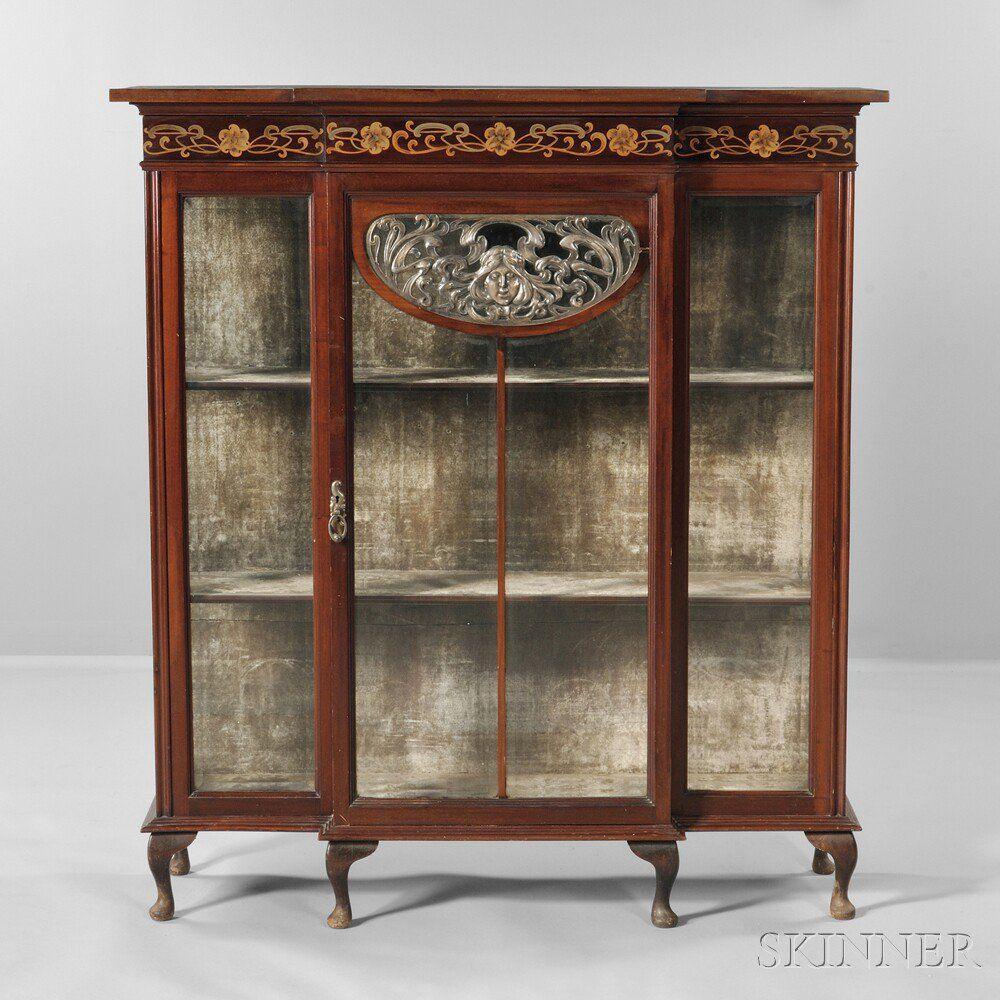 Art Nouveau China Cabinet. | Auction 2888B | Lot 655 | Estimate ...