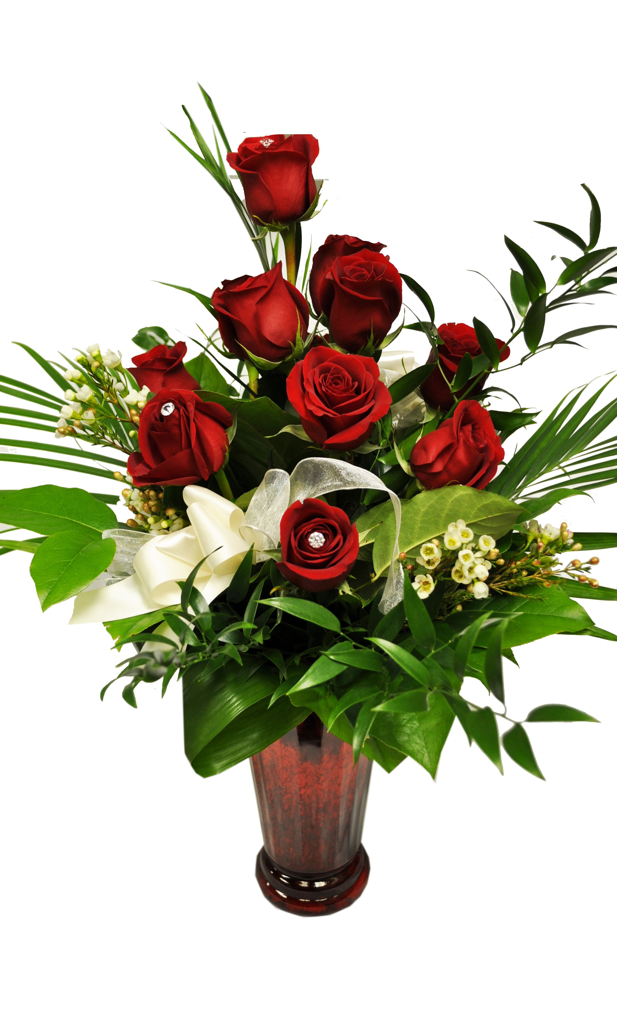 Calgary Creative Edge Flowers Red rose arrangements