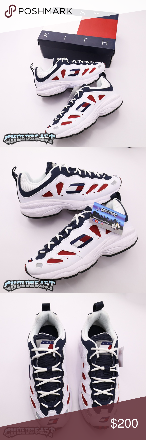 Ds Kith Tommy Hilfiger Hyperbole Lo Top Colorblock Brand New Never Worn Size 10 Og Box 100 Authentic Tag Tommy Hilfiger Tommy Hilfiger Shoes Hilfiger
