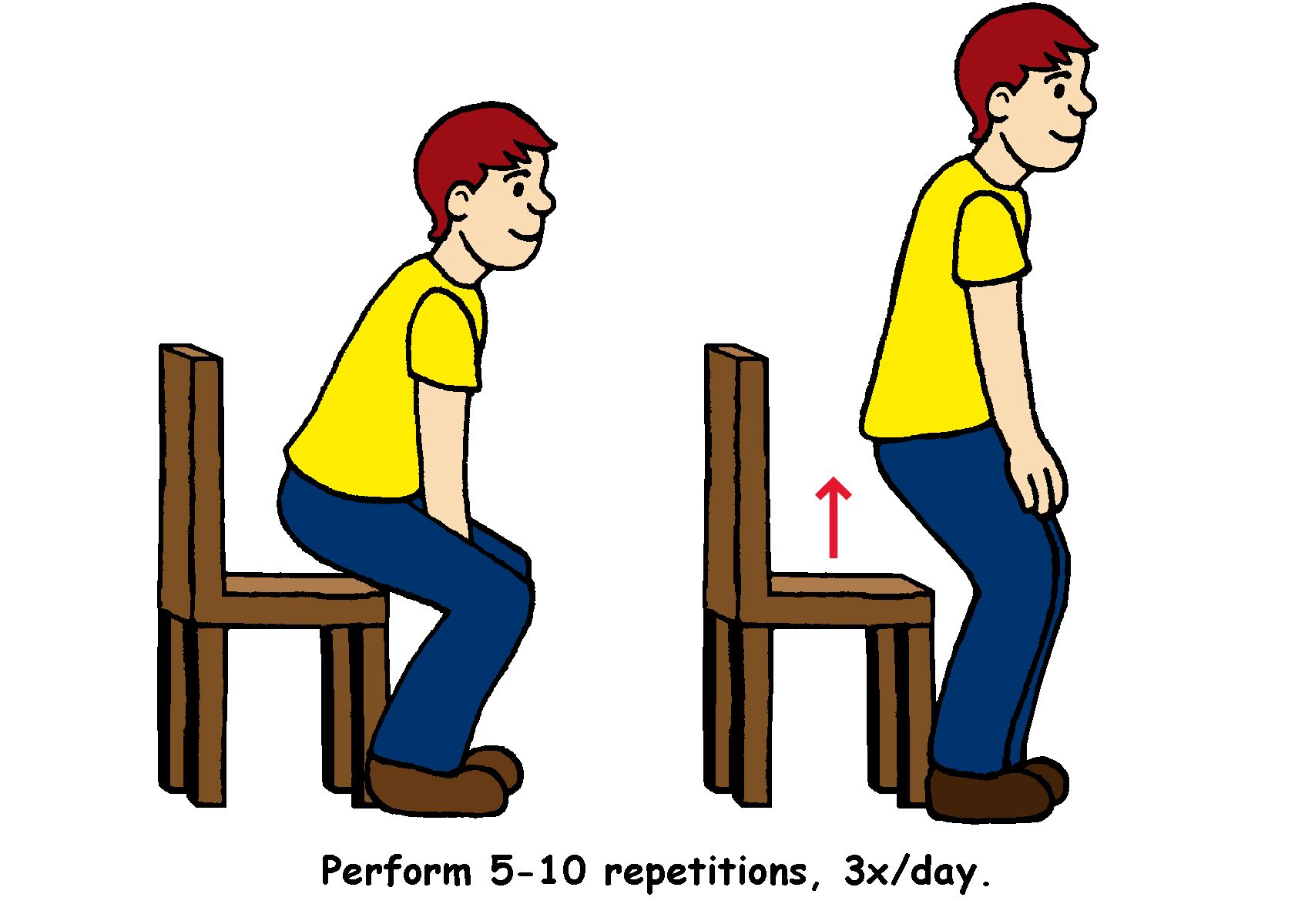 Sitting Down Chair Exercises Swinging With Stand Uk Get Moving Sit To Transfer From Your