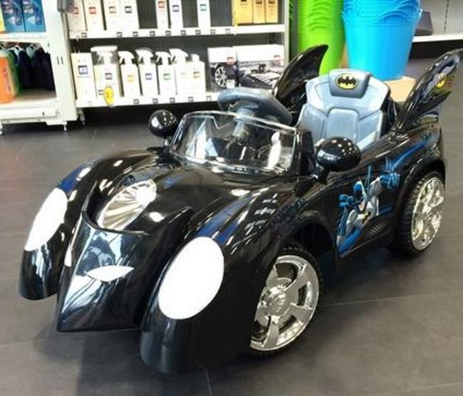Top Kids Electric Car Of The Year Batman Batmobile 6v Ride On