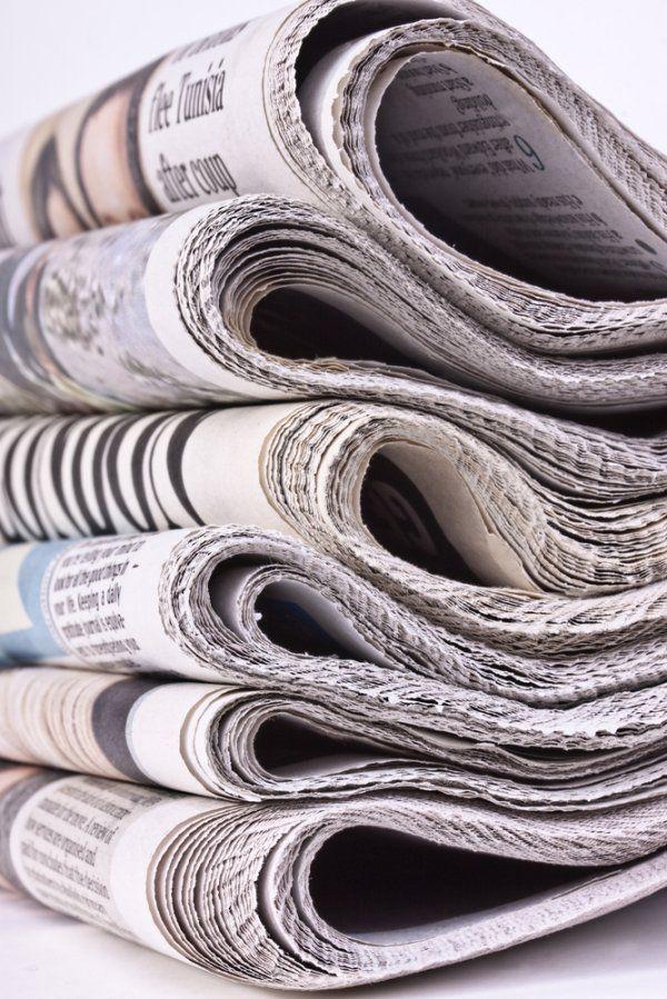 Come riutilizzare la carta dei giornali in casa for Giornali arredamento casa