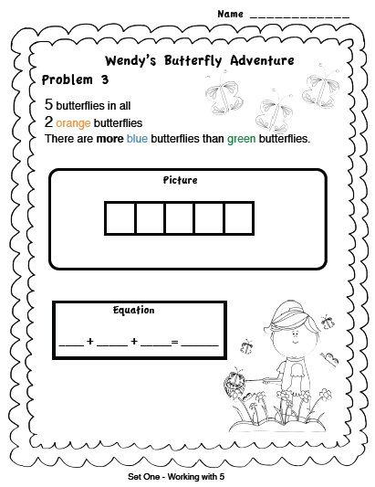 Spring Time Fun Problem Solving Activity K 2 Problem Solving Activities Problem Solving Solving