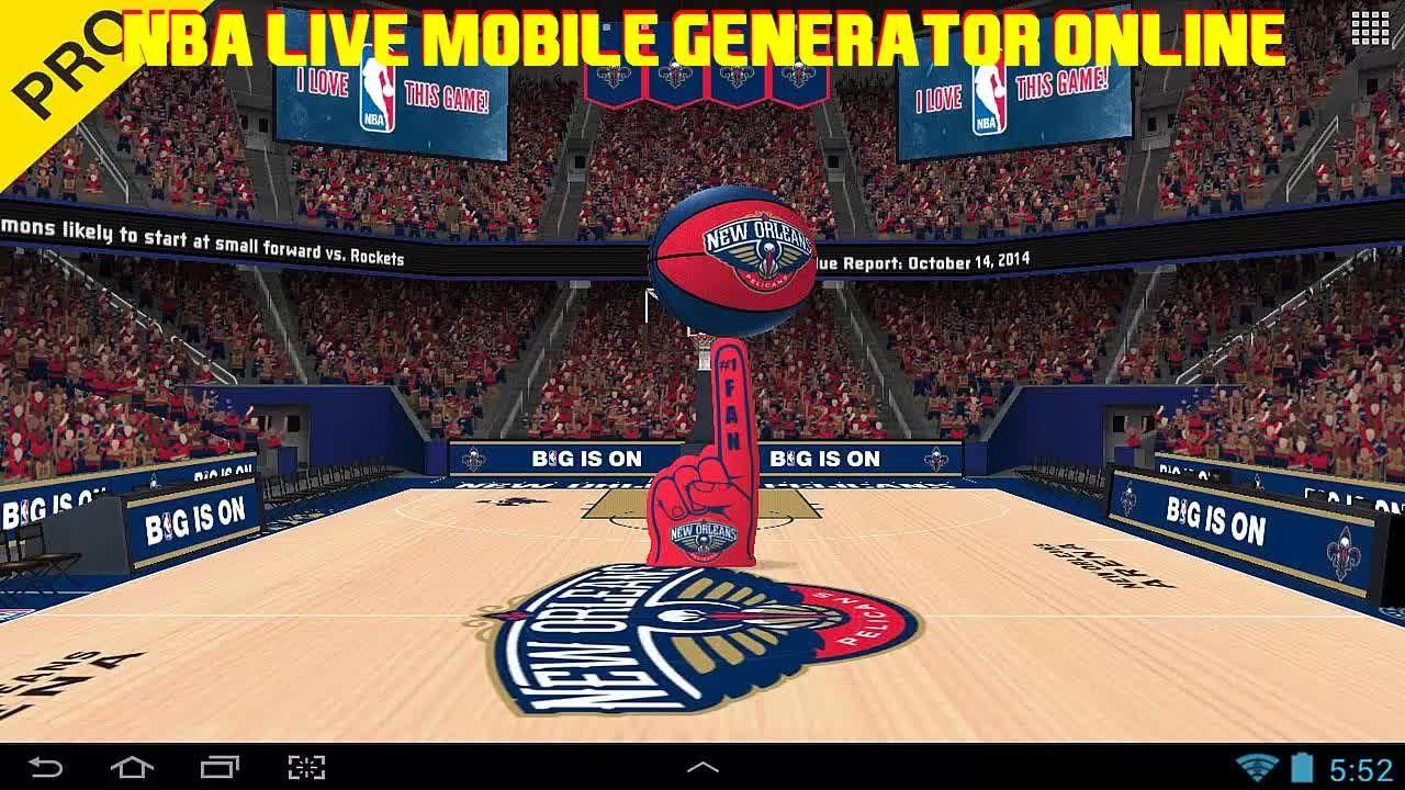 Pin di Lara Mendez su NBA LIVE Mobile Hack Generator