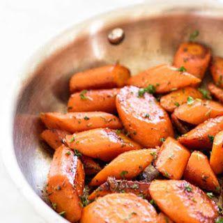 Lemon-Honey Glazed Carrots