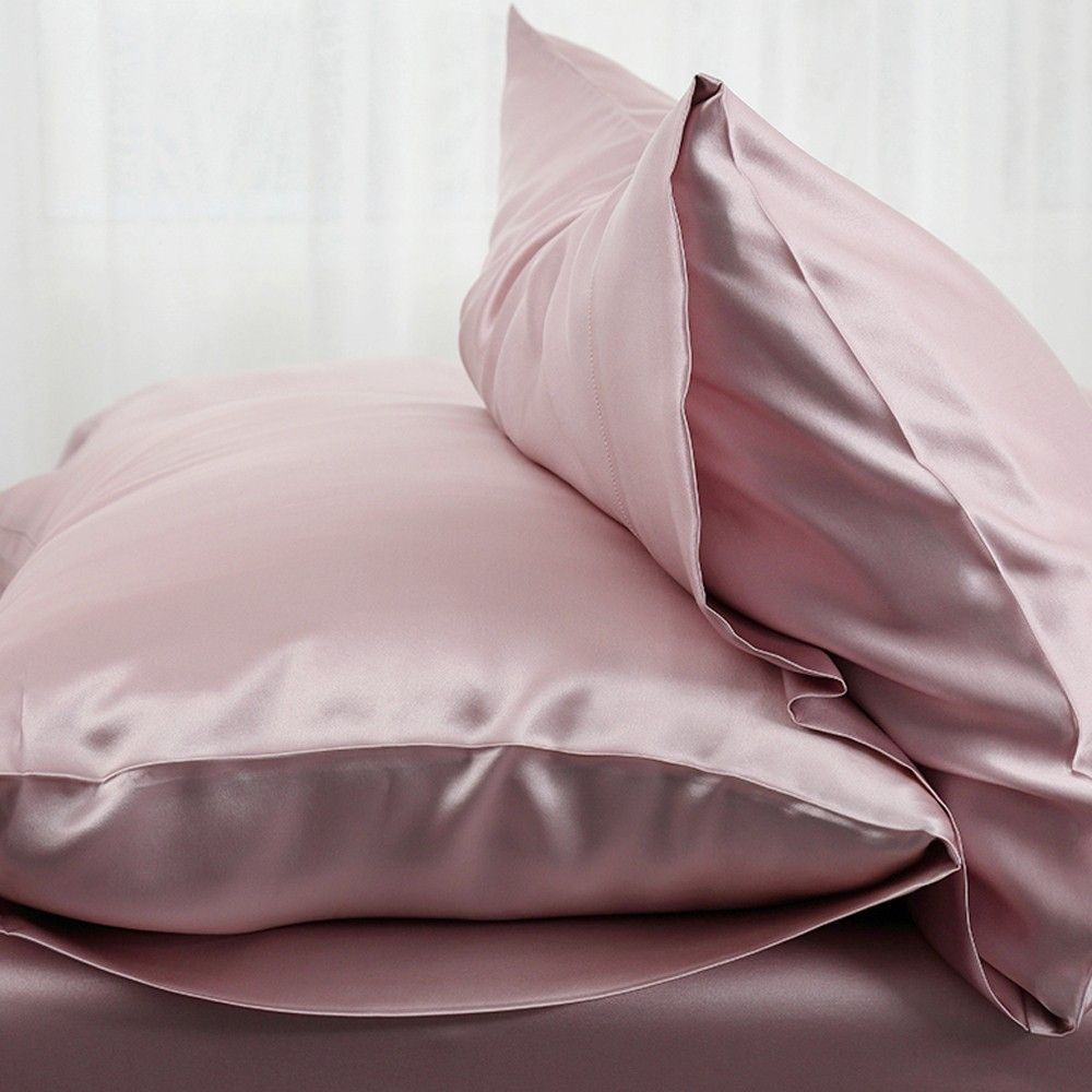 suede rose housewife silk pillowcase