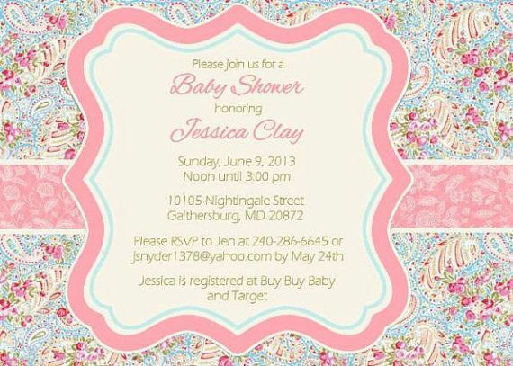 Spring floral paisley baby shower invitation by onceuponadezign spring floral paisley baby shower invitation by onceuponadezign 1200 filmwisefo