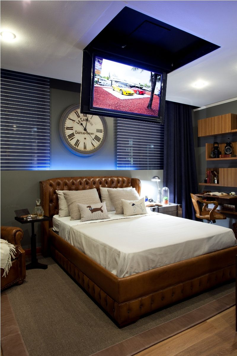 Dormitorios para hombres d s o de e pac o creativo - Ideas decoracion dormitorios ...
