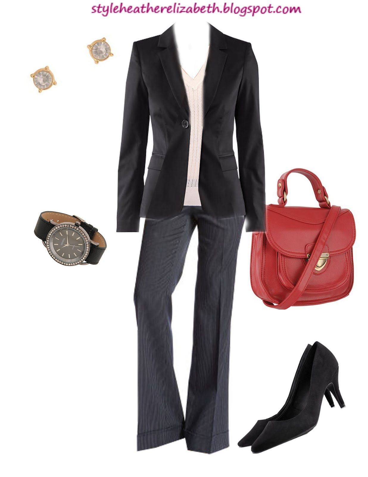 outfits with blazers for women | STYLE. (by: heather)