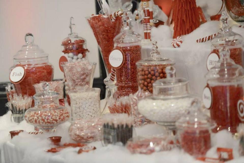 Pin By Kelly Provenzano On Winter Wedding Candy Bar Wedding Winter Wedding Planning Christmas Candy Bar