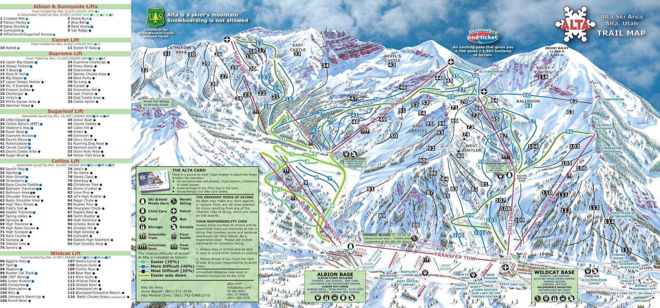 Bromley Mountain Peru VT Trail Map Skiing Pinterest Trail Maps - Mammoth mountain trail map