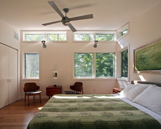 Bedroom Design, Modern Bedroom With Neoteric Bedroom Windows Also Antique  With Wall Paint Color Also