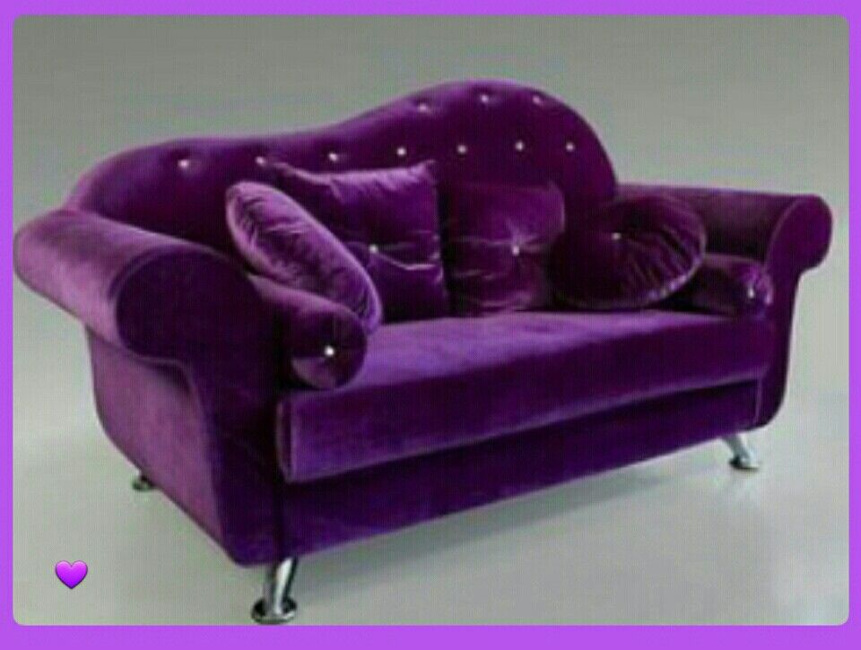 Awesome Beautiful Purple Velvet Loveseat Purple Furniture Purple Gmtry Best Dining Table And Chair Ideas Images Gmtryco
