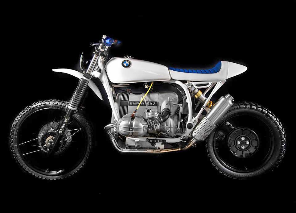 BMW R80 GS - Geneva Lake  by Meister Engineering