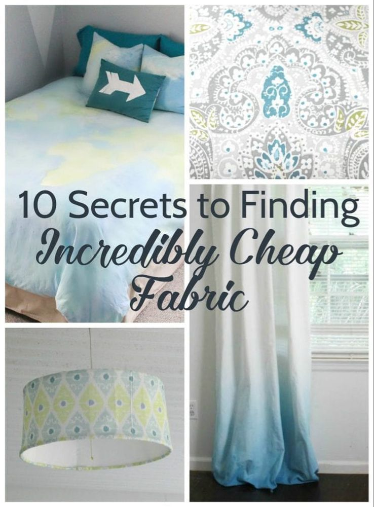 Photo of 10 Geheimnisse für die Suche nach unglaublich billigen Stoff Lovely Etc.