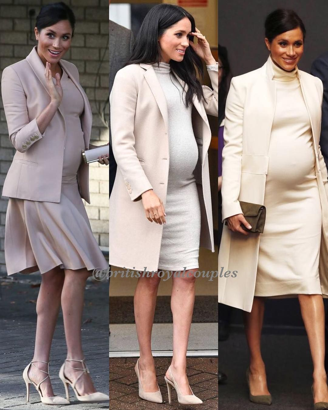 a67c7187454  RoyalStyle 🤰🏻Duchess Meghan s pregnancy style. All her looks were  beautiful but these are the 9 outfits that I liked the most! What are…