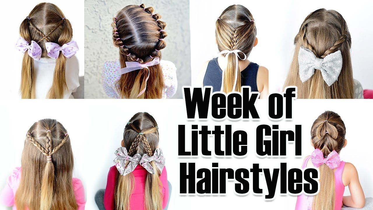 quick and easy little girl hairstyles for the week grace hair in