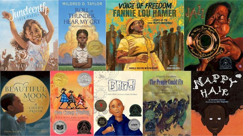 Top 100  Recommended African-American Children's Books