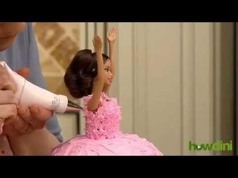 Make Princess Cakebarbie Doll Cake Princess Birthday Cake