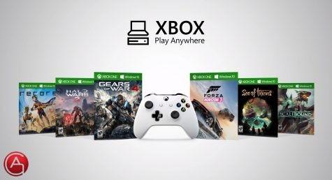 مايكروسوفت تطرح ميزة اللعب في أي مكان Play Anywhere شبكة العربية العامة Xbox One Games Xbox Xbox One