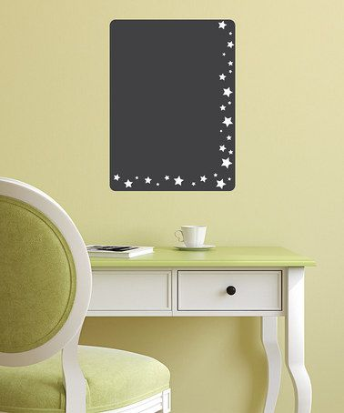 Take a look at this Chalkboard Stars To-Do List Wall Decal by ...