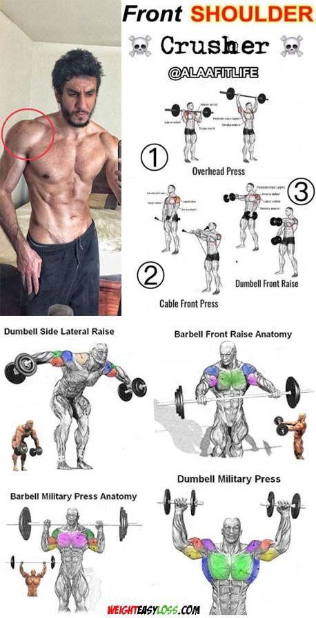Shoulder Exercises Shoulder Workout Workout Abs Workout
