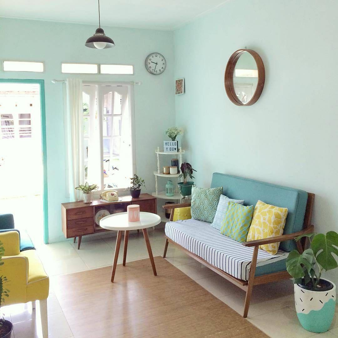 Desain Dekorasi Ruang Tamu Sempit Sederhana Desain Interior Interior Ruang Tamu Rumah Design ruang tamu sempit