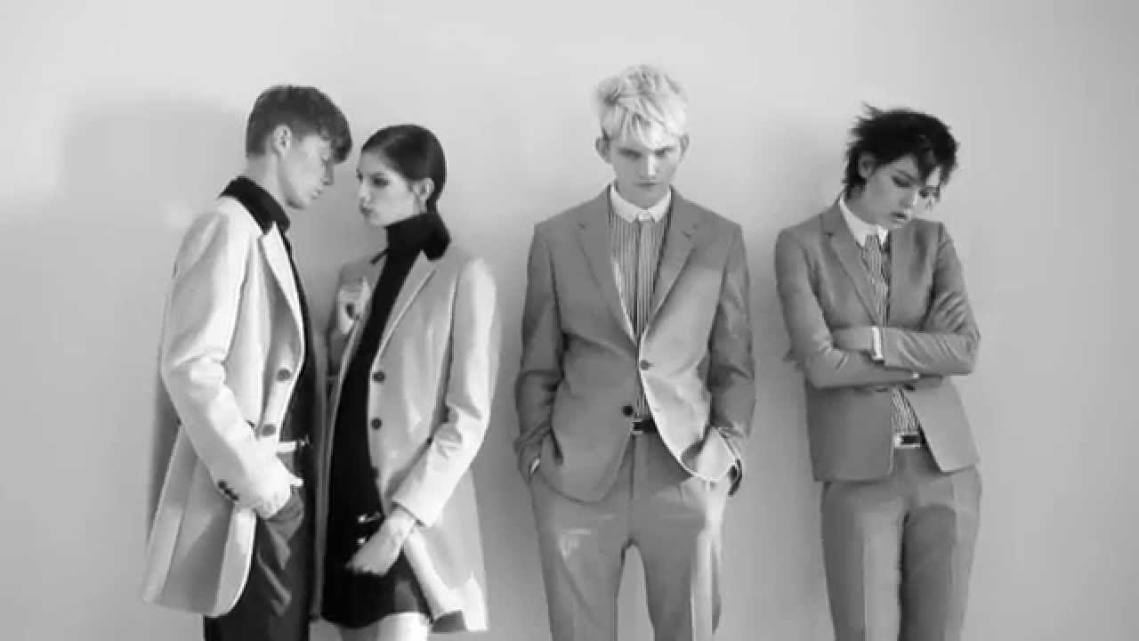 Sleek black and white Mods. Embrace the #VersusVersace attitude.
