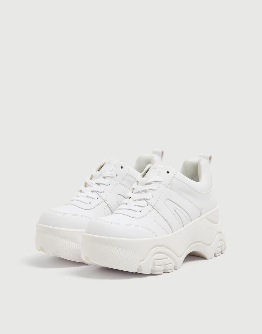 Platform Fashion Trainers Pull Bear Trainers Fashion Fashion Chunky Shoes