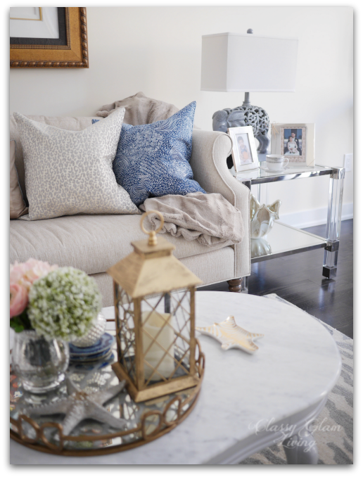 Living Room Reveal and Styling Tips | Styling tips, Coffee table ...