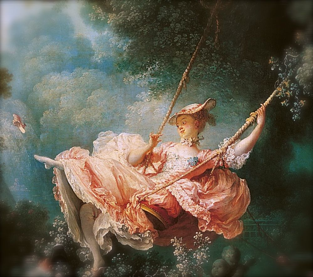 Jean Honore Fragonard The Swing O Oil On Canvas O 1766 O The
