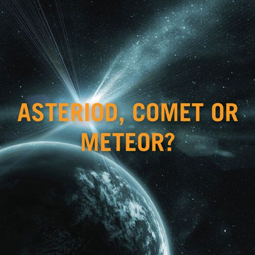Asteroid Comet Meteor. Discovery Kids site | science | Pinterest ...