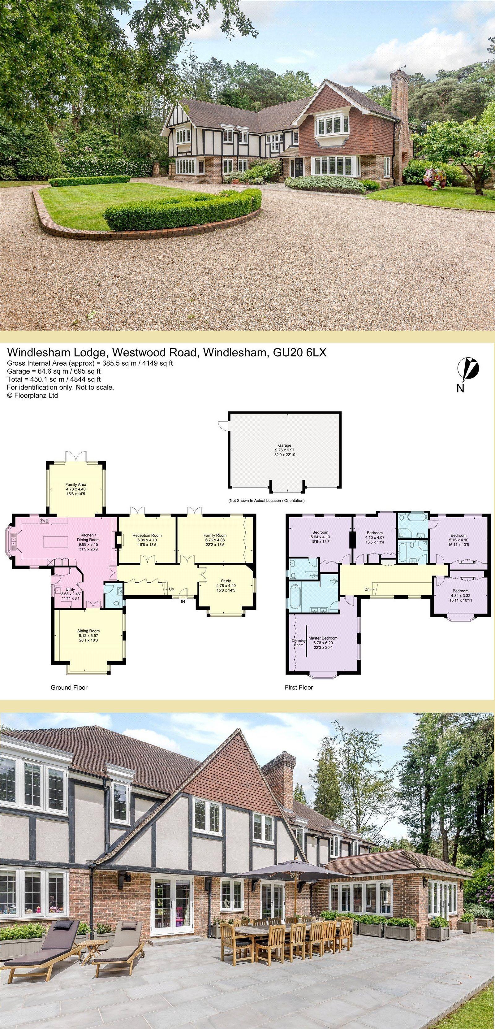 Windlesham Lodge Westwood Road Windlesham Surrey Victorian House Plans Architecture Exterior Modern House Plans
