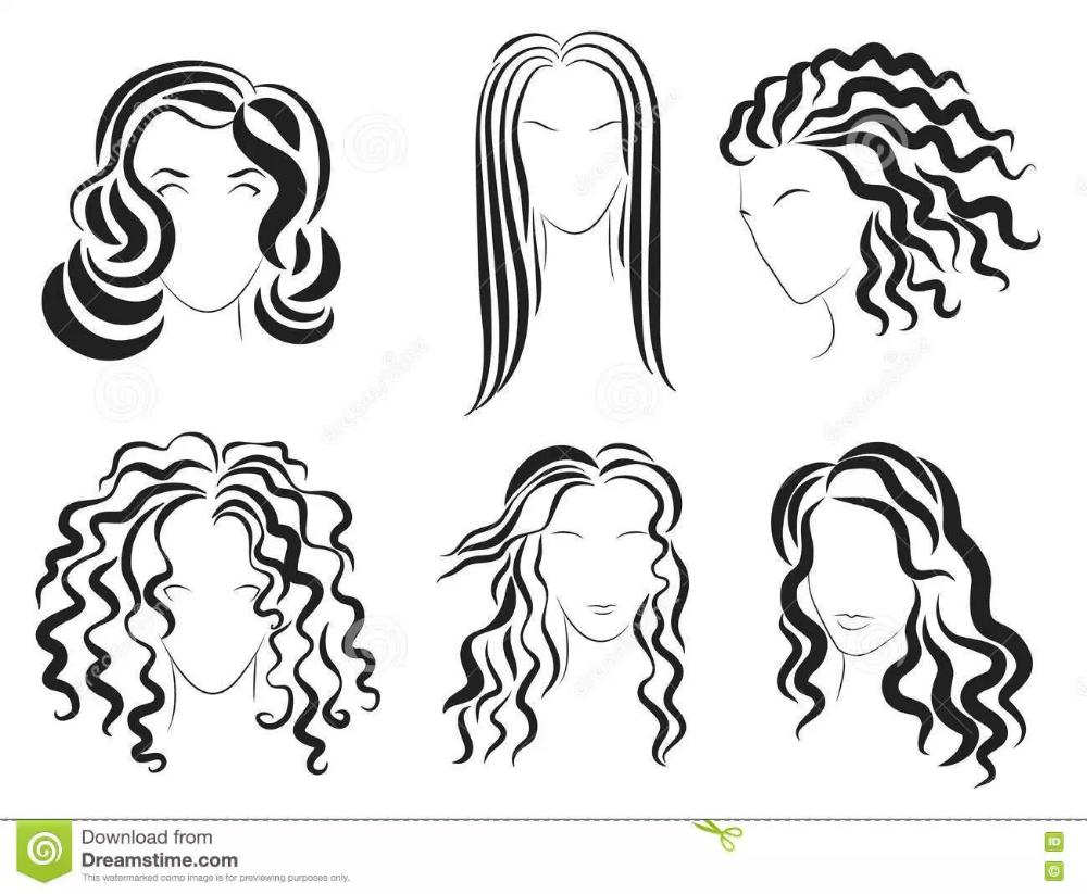 Registered At Namecheap Com Hair Logo Design Hair Vector Hair Illustration